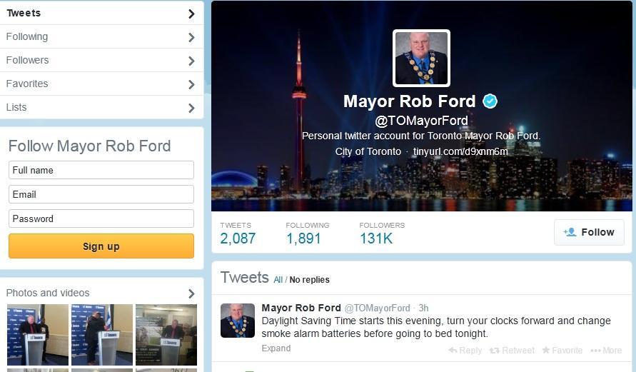 Мэр Торонто запутал канадцев, призвав перевести время не в ту сторону