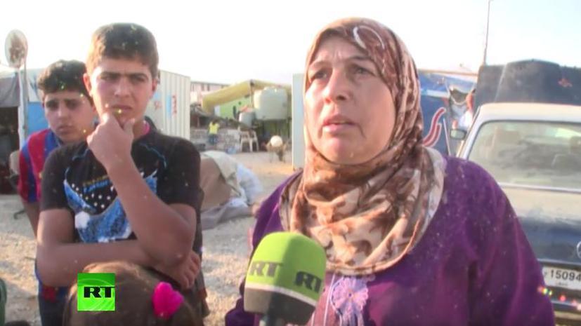Сирийские беженцы: Мы бежали в Ливан от войны, а теперь она может начаться и здесь