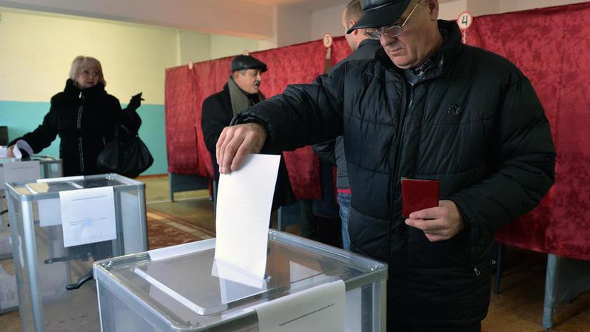 В ДНР завершилось голосование, выборы прошли в спокойной обстановке