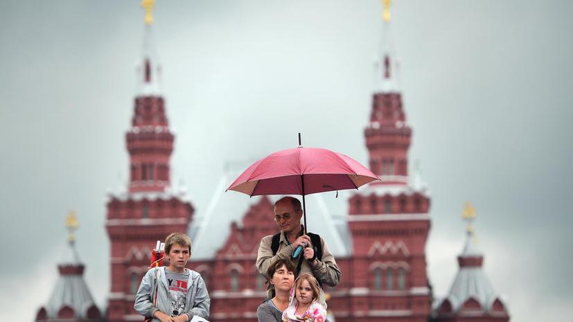 В Москву пришёл циклон, накануне обрушившийся на Сочи