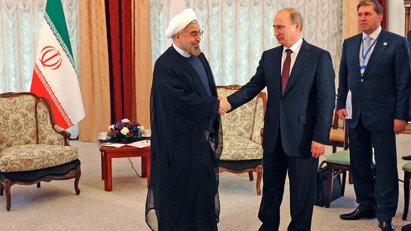 Совместное заявление Владимира Путина и президента Ирана Хасана Роухани