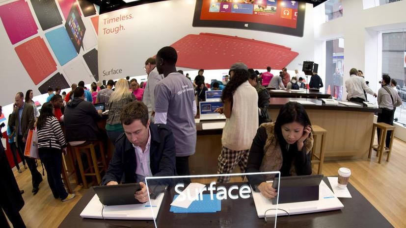 Россия холодно встретила Surface от Microsoft