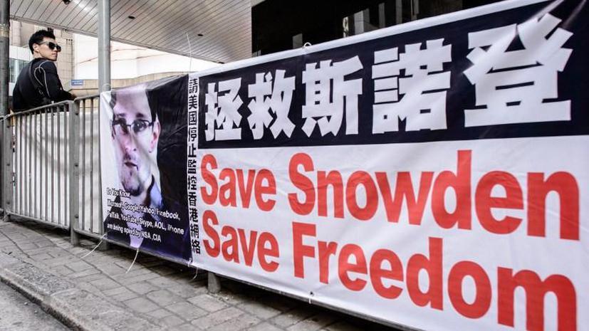 Экс-сотрудник ЦРУ Эдвард Сноуден летит из Гонконга в Москву