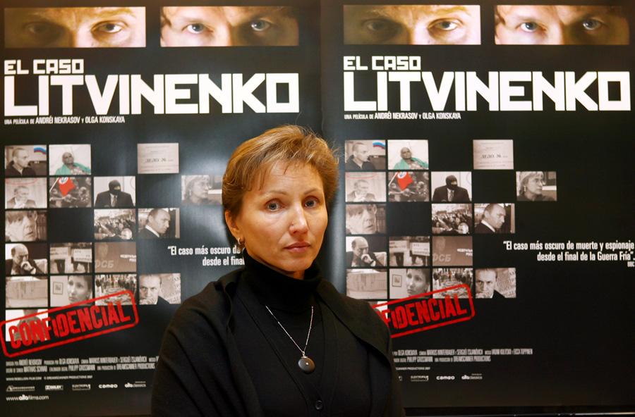 Березовский не дал Марине Литвиненко деньги на расследование причин смерти ее мужа